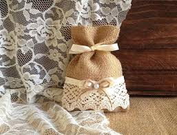 burlap favor bags rustic 10 lace covered color burlap favor bags wedding
