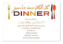 dinner invitation dinner party invitations by invitationconsultants