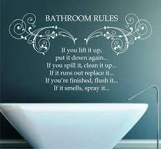 bathroom wall decals quotes jen joes design creating wall bathroom wall decals quotes
