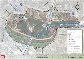 Unlv Map Hansen Dam Recreational Opportunities U003e Los Angeles District U003e Los