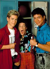 Saved By The Bell Meme - zack screech and slater from saved by the bell 90s pop culture
