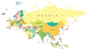 Do Continents Have Flags How Is The Border Between Europe And Asia Defined Worldatlas Com