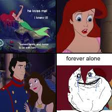 Ariel Meme - image 190644 forever alone know your meme