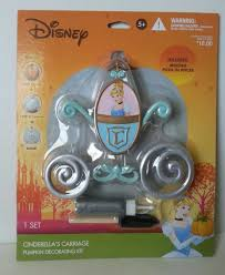 cinderella carriage pumpkin disney cinderella carriage pumpkin decorating kit 2 sets