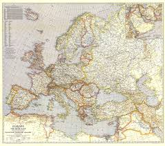 Map Central Europe by Central Europe And The Mediterranean Map