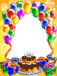 Happy Birthday Wishes For Wall Happy Birthday Transparent Png Frame Frames Borders