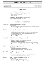 sample resume mental health counselor therapist counselor resume