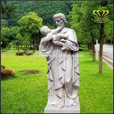outdoor indoor garden decor pieta holy jesus virgin mary white