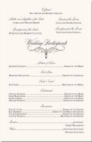 church programs for wedding wedding ceremony programs choose your color by impresspapers