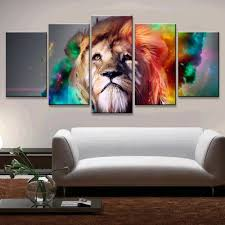 beautiful decoration lion inspiration graphic lion wall art home