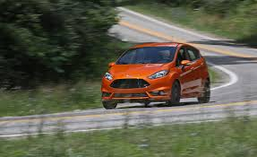 2017 ford fiesta st instrumented test review car and driver