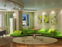 Green Living Room Design Ideas Decorations And Furniture - Green living room design