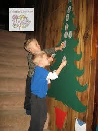 a kinders garten vintage homeschool christmas advent calendars