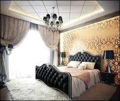 style chambre a coucher adulte chambre a coucher style le papier peint baroque et le style moderne