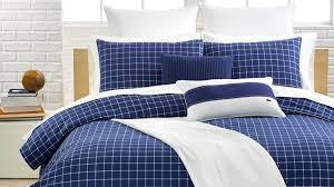 Navy Stripe Comforter Set Duvet King Size Comforter Sets Cotton Comforters King Duvet Down