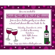 wine themed bridal shower bridal shower invitations wine themed bridal shower invitations