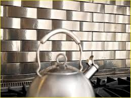 stainless steel tiles for kitchen backsplash elegant stainless