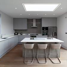 Standard Kitchen Island Height by Grey Expo Silestone Kitchen Midcentury With Kitchen Island Low
