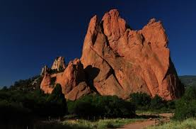 Garden Of The Gods Rock Formations Of The Gods