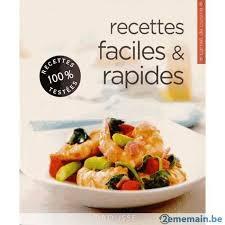 livre cuisine facile livre cuisine facile et pratique a vendre 2ememain be