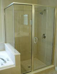Diy Frameless Shower Doors Semi Frameless Shower And Tub Enclosures