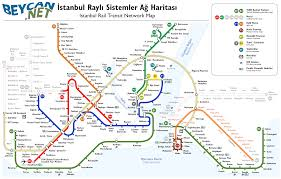 Network Map Istanbul Transportation Rail Network Map Image Viewer Askfoxes Com