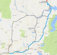 Wa Map 7 Resorts Within 172 Miles Of Spokane Wa Find A Ski Resort Near You