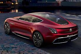 dodge supercar concept all electric mg e motion concept is supercar for millennials by