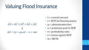 Flood Insurance Premium Estimate by Estimating The Social Benefits Of The National Flood Insurance Pr