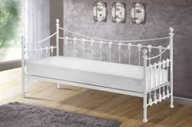 bedrooms versailles white metal french day bed single