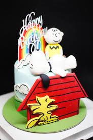 snoopy cakes yume patisserie customized cakes singapore