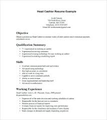 walmart cashier resume sample resume samples for college students