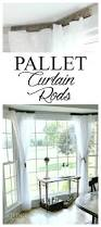pallet curtain rods my 30 minute solution noting grace