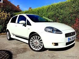 stunning 2009 fiat grande punto sporting t j jet white 1 4 turbo