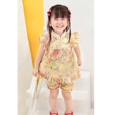 new years tops floral children s sets baby clothes suits new year