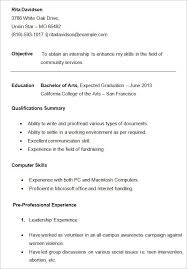 college resume format exles resume format college student best resume collection