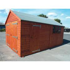 wooden garages u2013 next day delivery wooden garages
