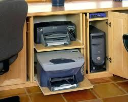 Printer Storage Cabinet Printer Storage Furniture Modern Office Desk And Side Storage
