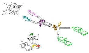 1992 corvette parts 1992 96 exhaust corvette parts and accessories