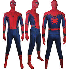 unisex spider man homecoming spider man jumpsuit zentai