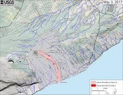 Southeastern Usa Map by Usgs Volcano Hazards Program Hvo Kilauea