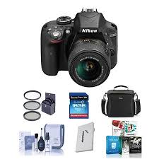 nikon d3300 bundle black friday nikon d3300 dslr with 18 55mm vr ii lens and free accessories