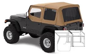 1995 jeep wrangler top 1988 1995 jeep wrangler complete top with hardware black