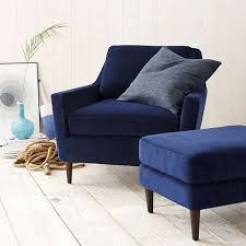 navy blue chair and ottoman pantone navy peony indigo blue cottage style and pantone
