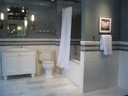 white tile bathroom with blue accent brightpulse us