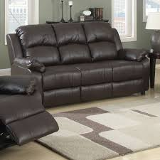 3 Seat Recliner Sofa by Sofa Source Katie Eco Leather 3 Seat Recliner Sofa Source