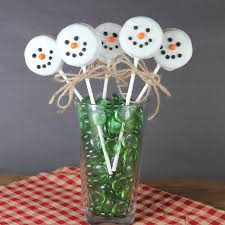 christmas treats oreo snowman pops mommysavers
