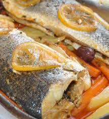 recette de cuisine au four bar au four les recettes de la cuisine de asmaa