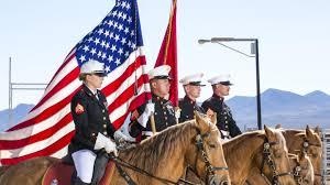 California Flag Horse Marine Corps U0027 Last Mounted Color Guard Enters Its 50th Year U003e The