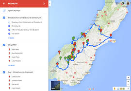 trip map how to plan a route on maps to use offline on the go